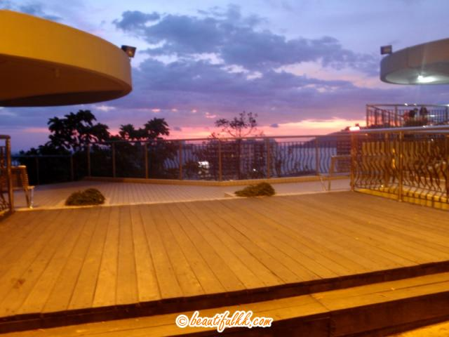 A Sunset View From The KK Observatory Tower