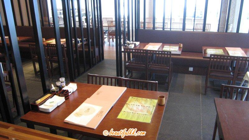 Seats at The Back Area at Sushi Tei