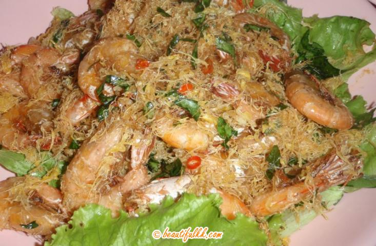 Dry Butter Prawn