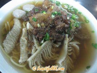 Beef Noodle With Soup