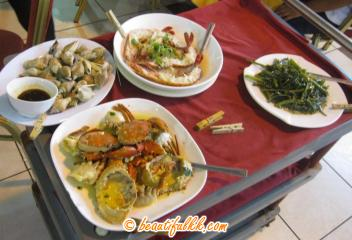 Seafood Dishes at Twinsky