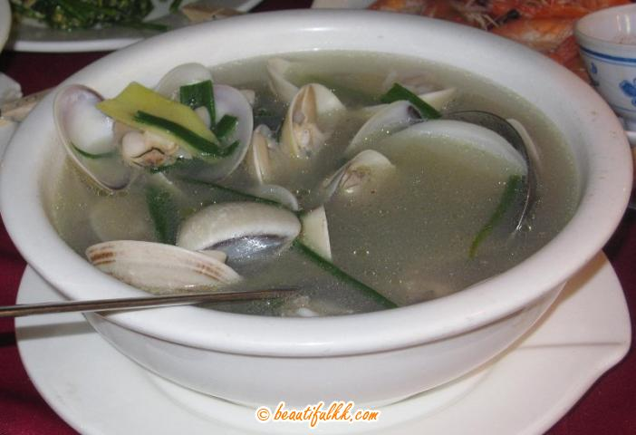 White Clam Soup