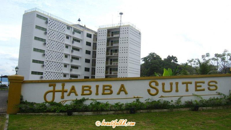Habiba Suites (View From The Entrance)