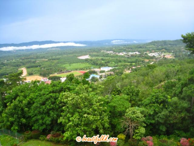 Tenom Valley and The Padas River