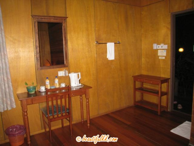 Spacious Deluxe Chalet at Sepilok Forest Edge Resort