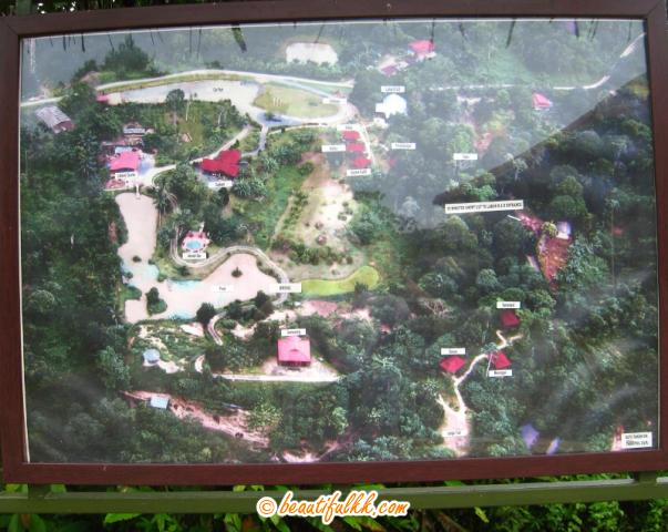 A Location Map of Sepilok Forest Edge Resort