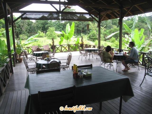 The Cafeteria at Sepilok Forest Edge Resort