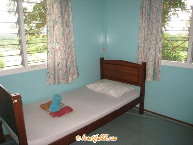 Dormitory Bed at the Long House