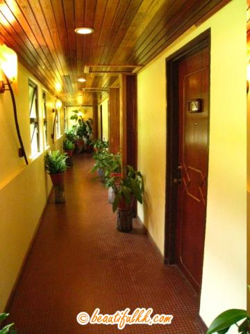 The Hall Way Leading to The Liwagu Suite