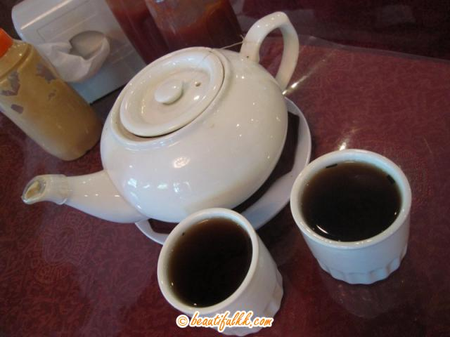 Chinese Tea Serves in Quality Teapot