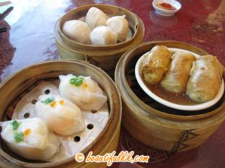 Various Dim Sum at New WK Restaurant (Luyang)