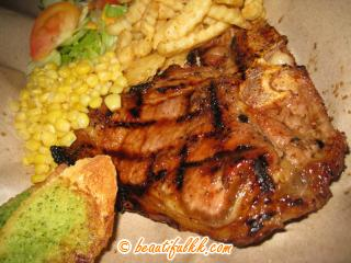 Flame Grilled Beef T-Bone