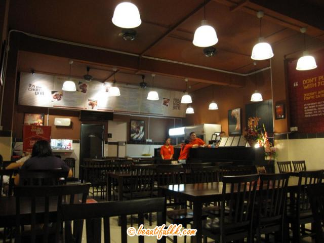 The Chub's Grill Interior