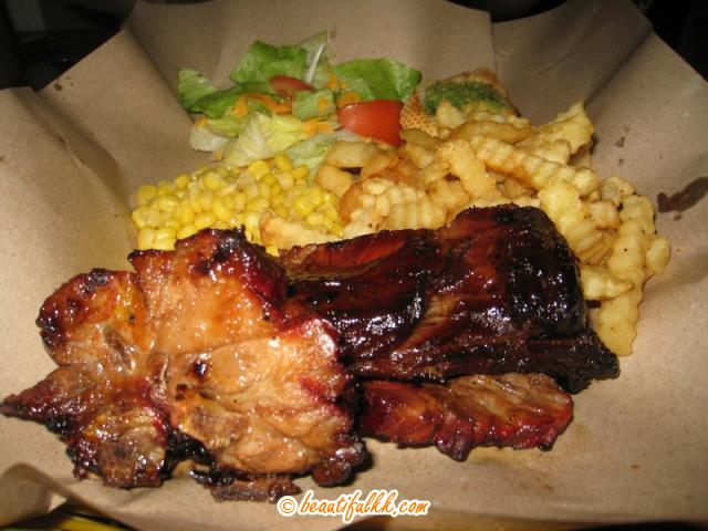 Flame Grilled Pork Ribs