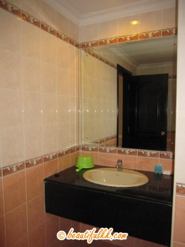 Wash Basin And Mirror (rbcs services)