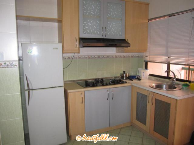 Kitchen at the Marina Court Condominium (rbcs services)