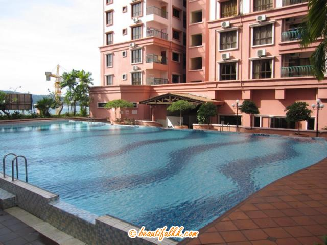 The Swimming Pool at Marina Court Condominium