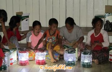 The Sonsogon Solar Lamp Project