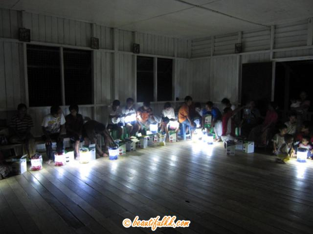 When Everyone Solar Lamps Is Power Up