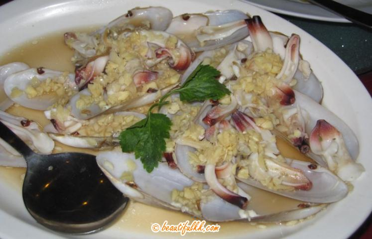 Special Clam With Garlic
