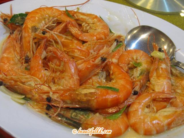 The Delicious Butter Prawn