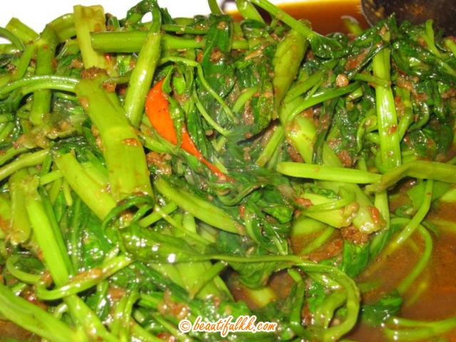 A Local Vegetable, This Dish Is Named
