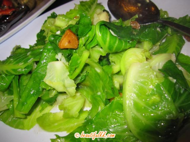 Fried Cabbage With Garlic