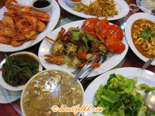 Happy Meal At Welcome Seafood Restaurant (KK)