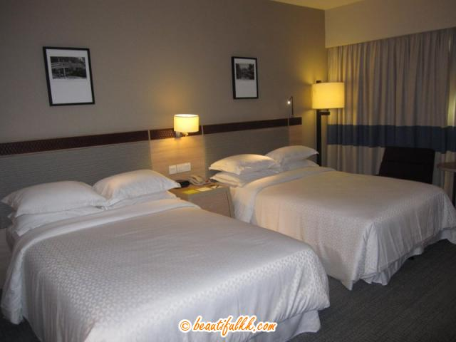 The Queen Size Bed At Deluxe Room