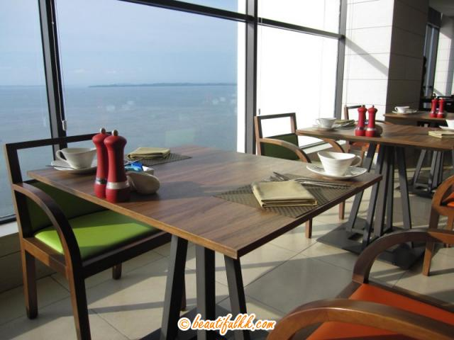 The Table With A Sea View At The All-Day Dining Restaurant