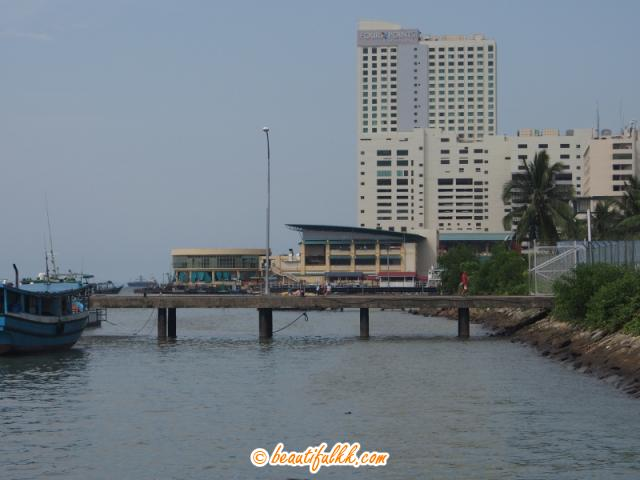 Four Points Sheraton As View From The Sabah Park Jetty