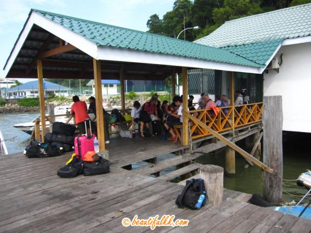 Guests Getting Ready To Visit The Turtle Islands Park
