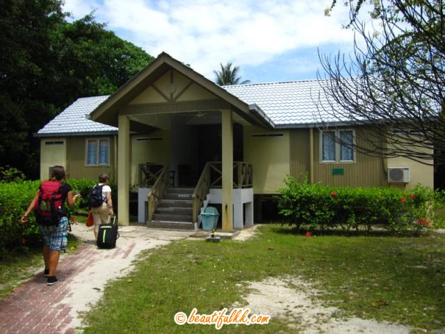The Comfortable Chalet At Selingan Island