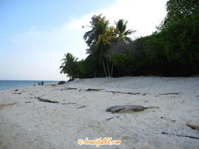 The Beach On The Eastern Side Of Selingan Island